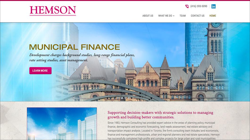 Hemson Consulting