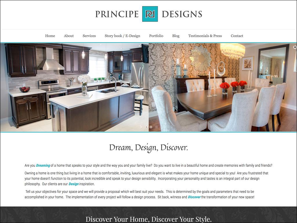 Platinum design interior design website design for Interior design sites