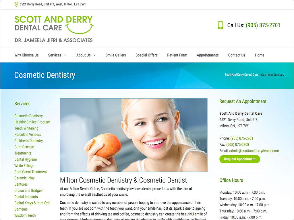 Platinum Design | Scott And Derry Dental Care